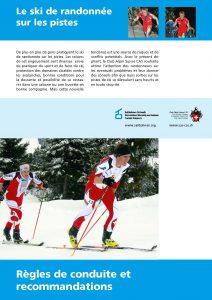 CAS Flyer ski de randonée sur les pistes